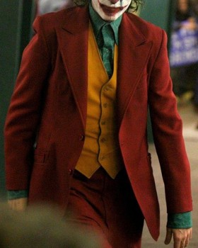 Joaquin Phoenix Joker Movie Coat