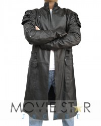 Hansel And Jeremy Black Long Coat